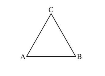 Как нарисовать правильный треугольник