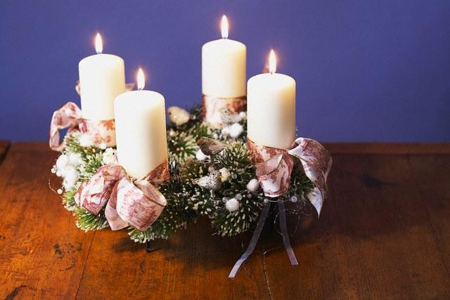 Как сделать рождественский венок