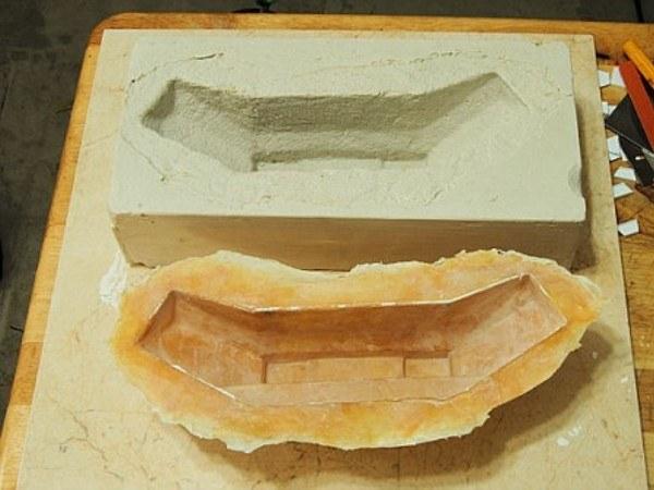 Как сделать форму для гипсовых отливок