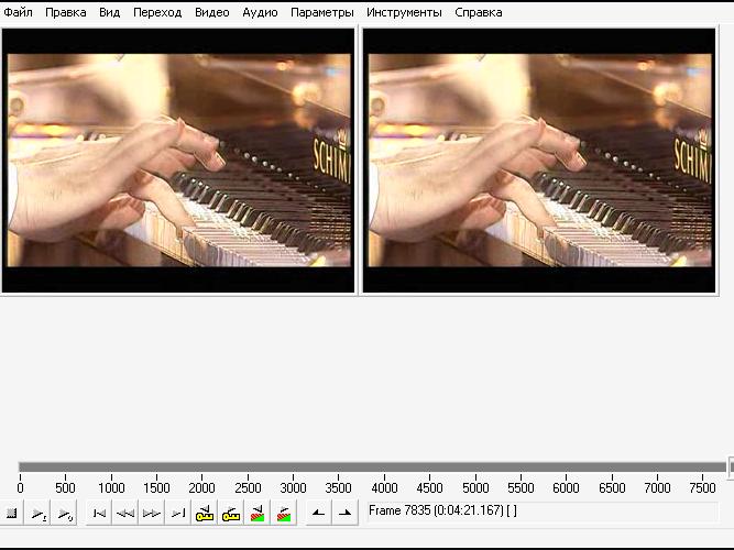 Как отделить звуковую тропинку от видео