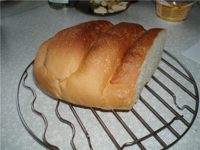 How to bake bread in the convection oven