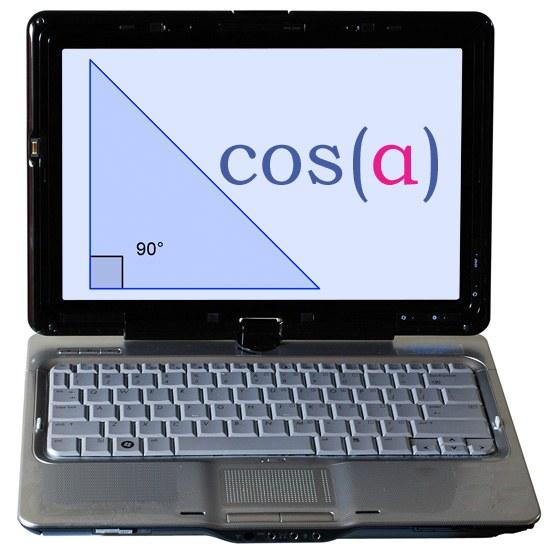 Как найти косинус угла прямоугольного треугольника