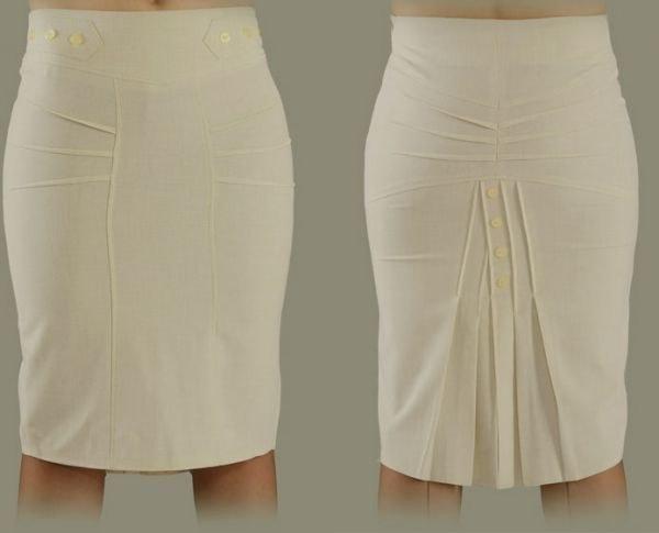 Как обработать низ юбки
