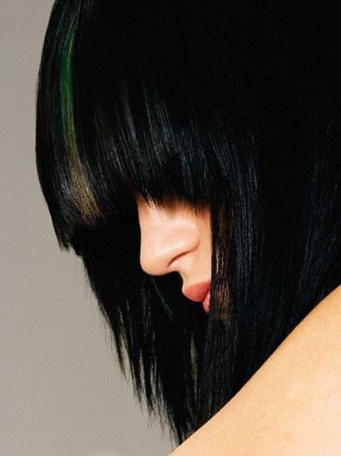 Как вывести черную краску для волос