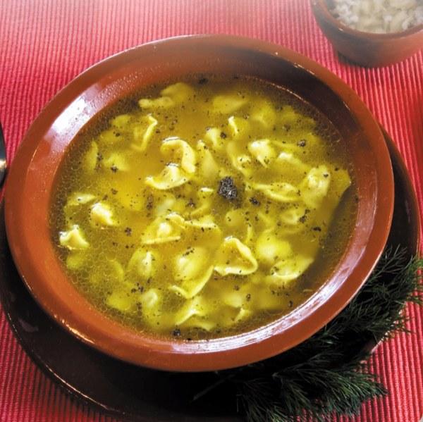 Как готовить суп с пельменями