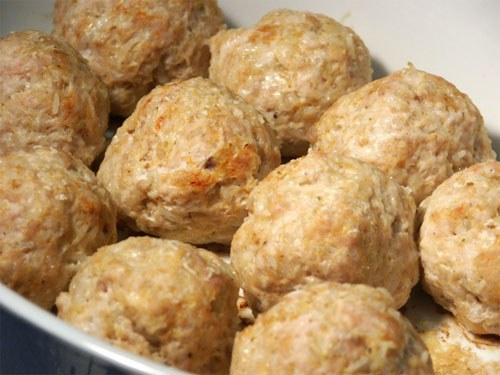 How to cook meatballs for a couple