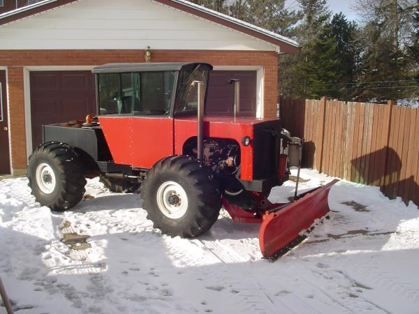 How to make a tractor at home