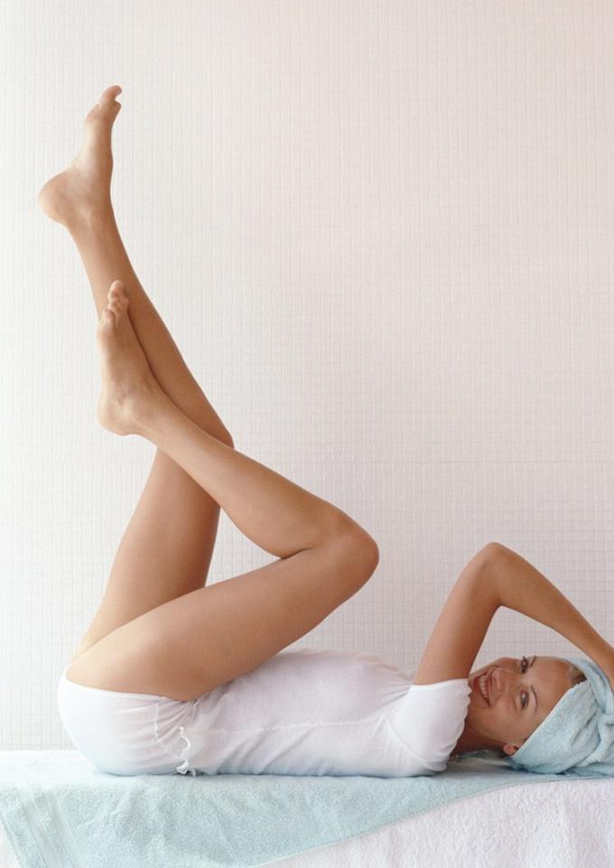 как похудеть ноги в домашних условиях видео