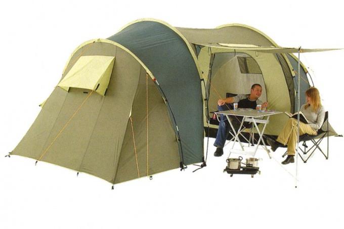Как сделать палатку
