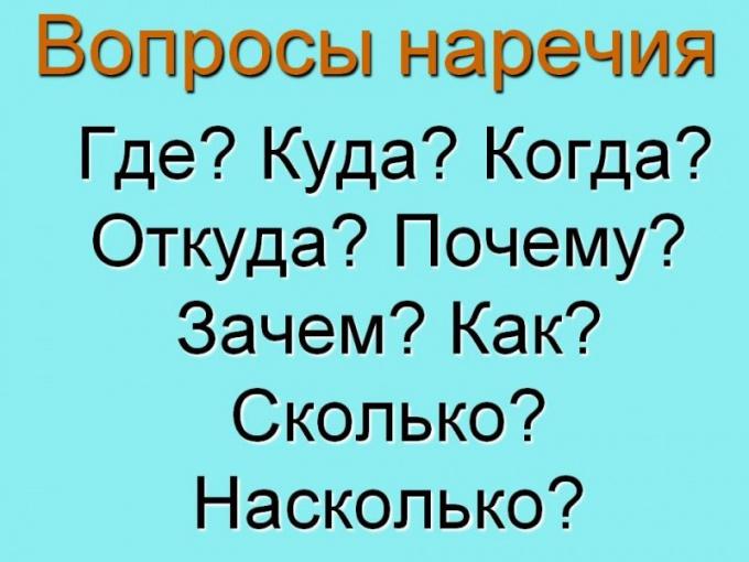 Для чего нужны наречия в русском языке