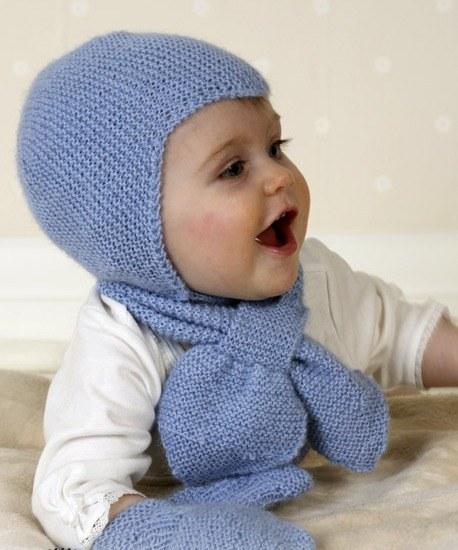 Как связать детскую шапку на зиму