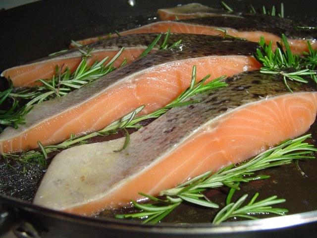 Как варить лосося