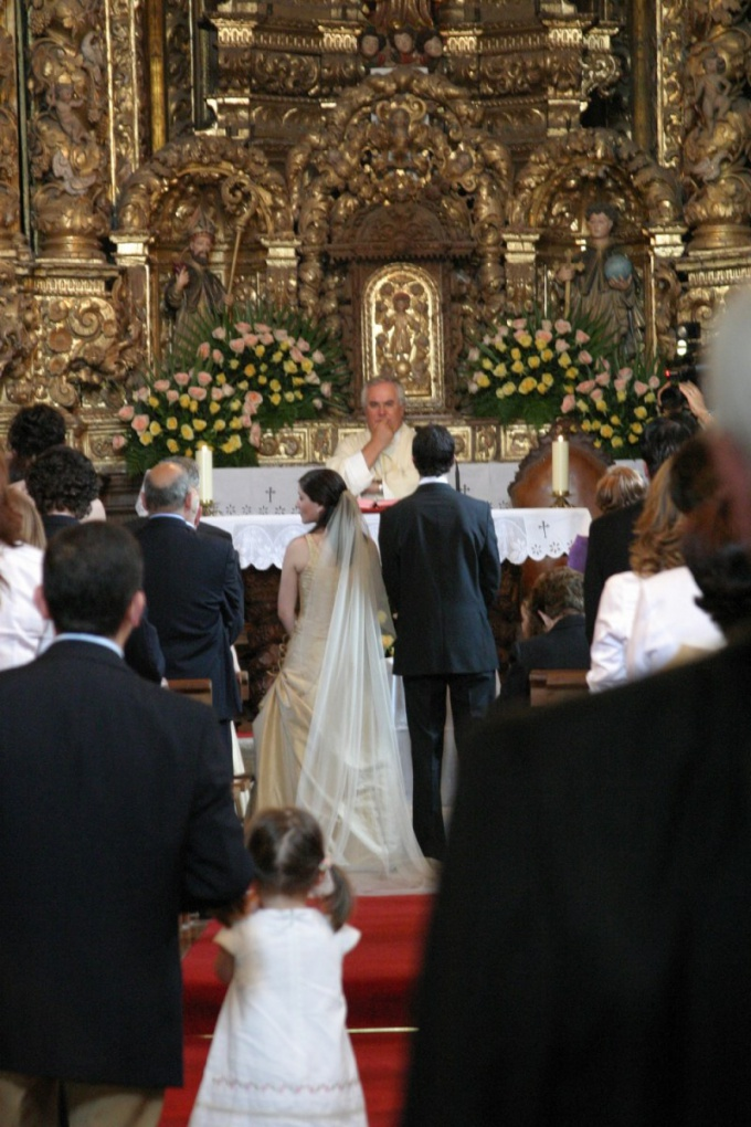 Как снимать венчание