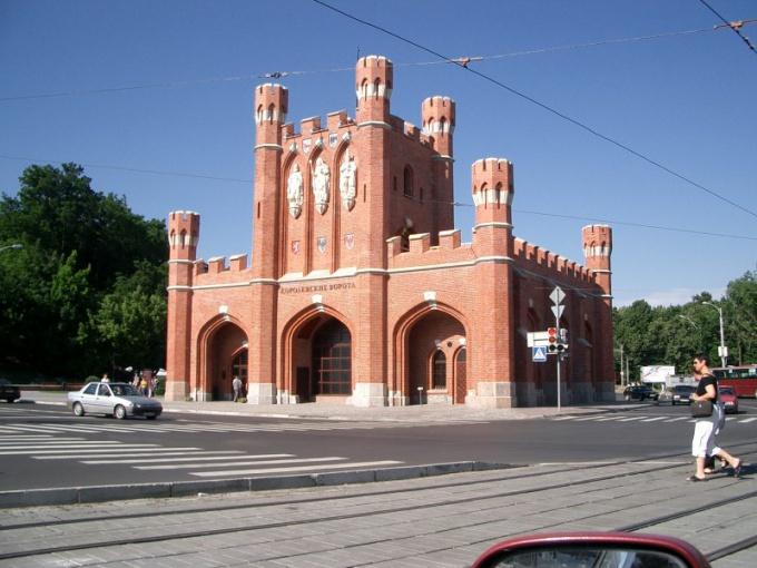 Как купить билет в Калининград