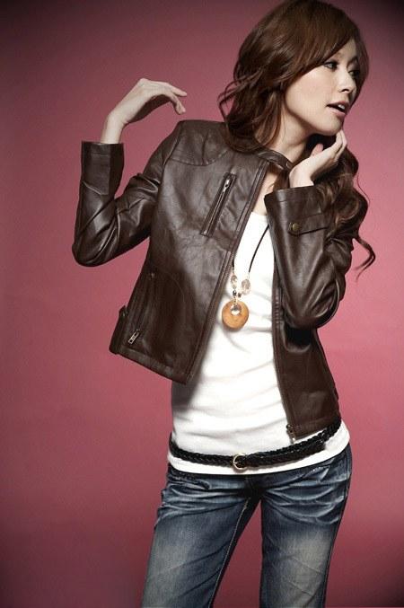Как носить короткую кожаную куртку