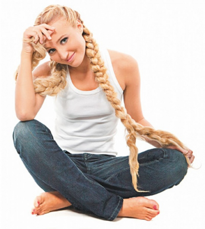 Как заплести косы из длинных волос
