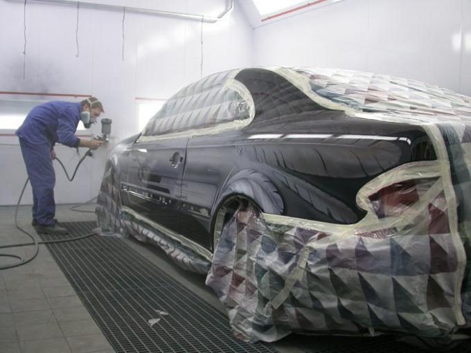 Как окрасить автомобиль