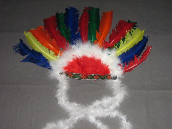 How to make costume Indian