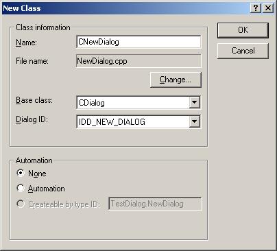 Как сделать диалоговое окно