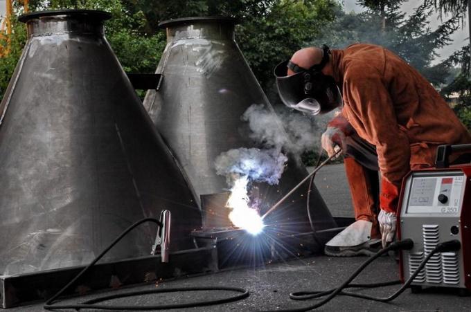 What is inverter welding