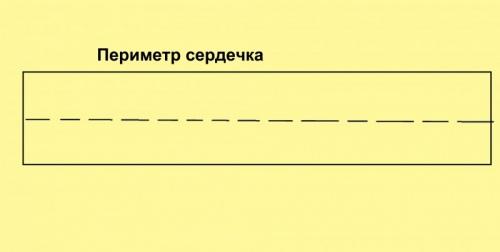 Полоска для боковины должна быть в 2 раза шире, чем высота коробочки