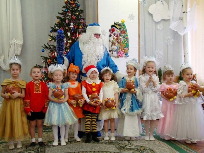 Утренник новый год в детских садах 3 5 лет