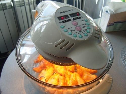 Как приготовить картошку с грибами в аэрогриле
