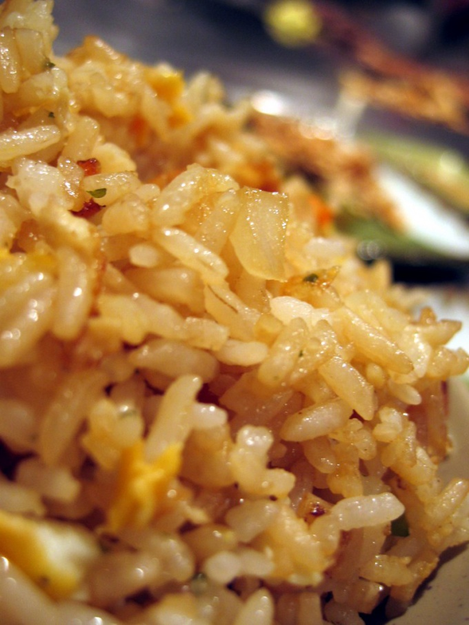 How to cook rice with meat