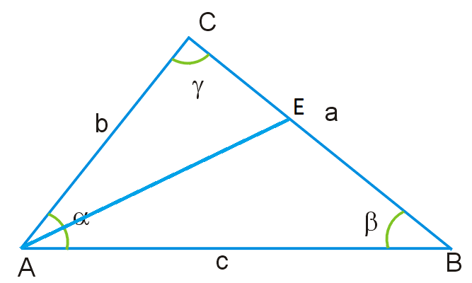 Как найти длину биссектрисы