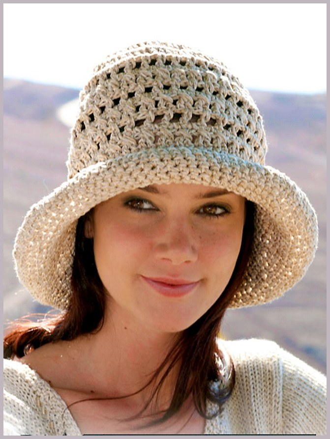 How to crochet women's hat