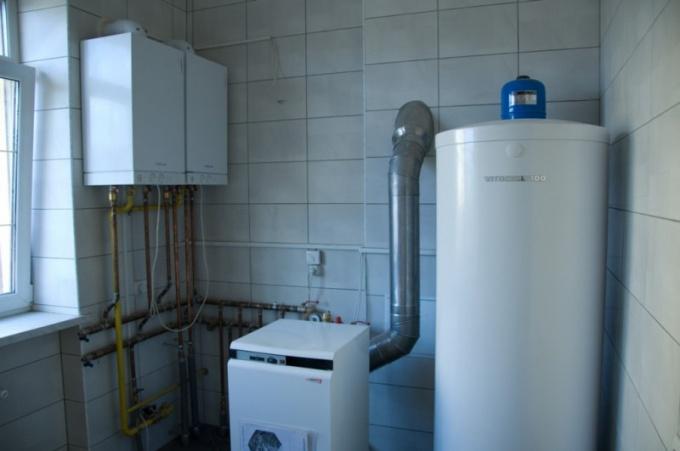 Как обогреть газом дом