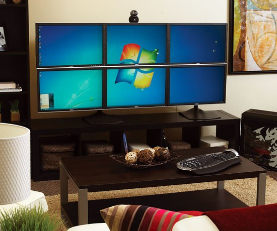 How to use 2 monitors