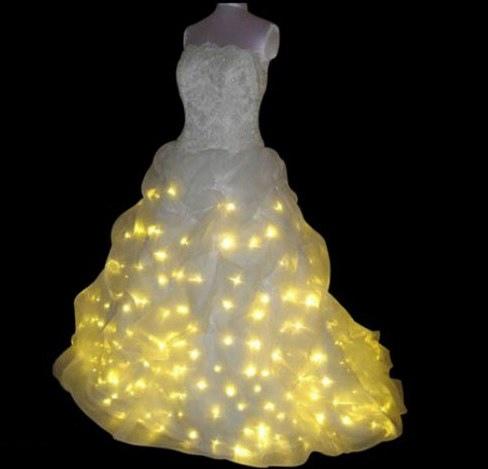 Как сшить странное свадебное платье