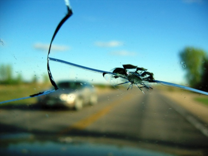 How to fix chipped windshield