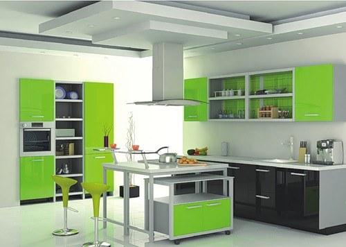 Как предпочесть цвет для кухонного гарнитура