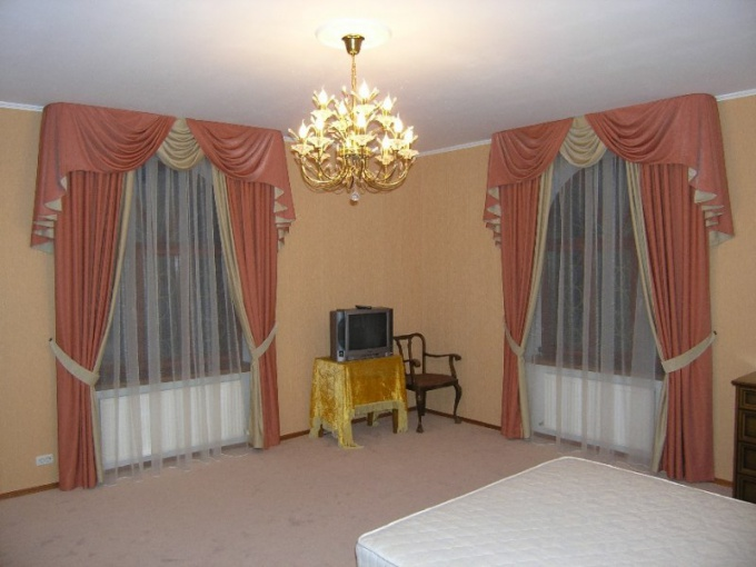How to choose the size of curtains