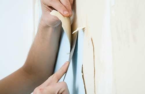 Как убрать со стен ветхие обои