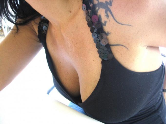 Как спрятать грудь