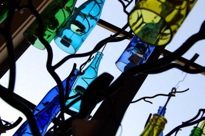 Как использовать стеклянные бутылки
