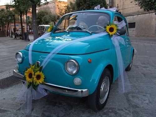 Как оригинально украсить автомобили на свадьбу