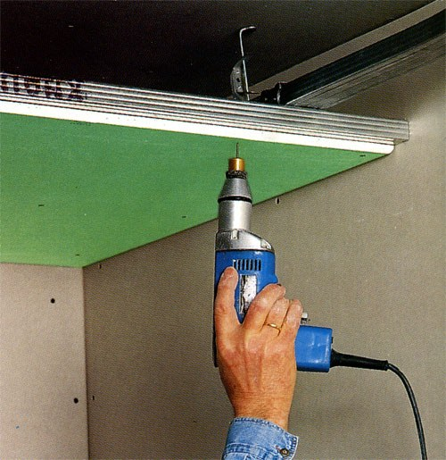 Как повесить подвесной потолок