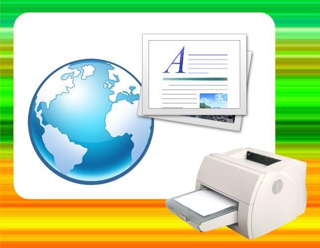 Как напечатать текст из интернета