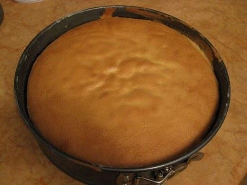 How to bake sponge cake