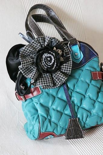Как украсить сумочку