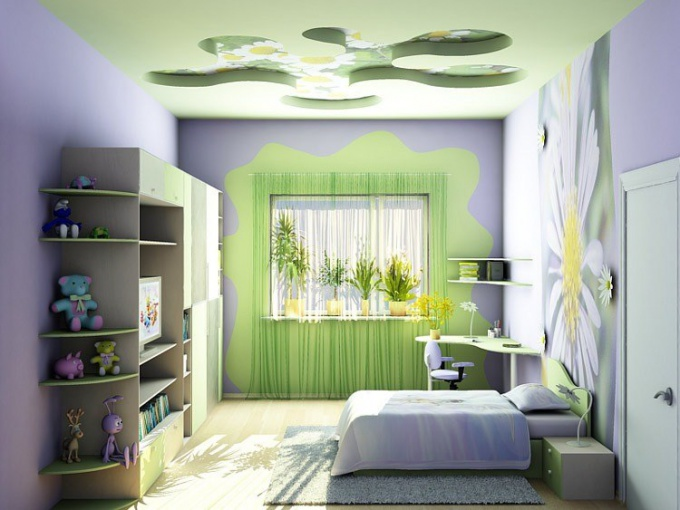 Как покрасить детскую комнату