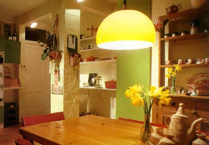 Как выбрать люстру для кухни