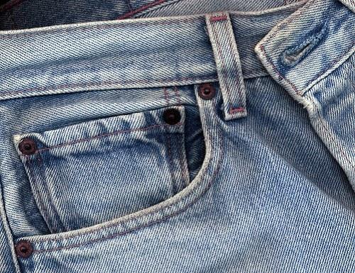 Как удалить клей с джинсов