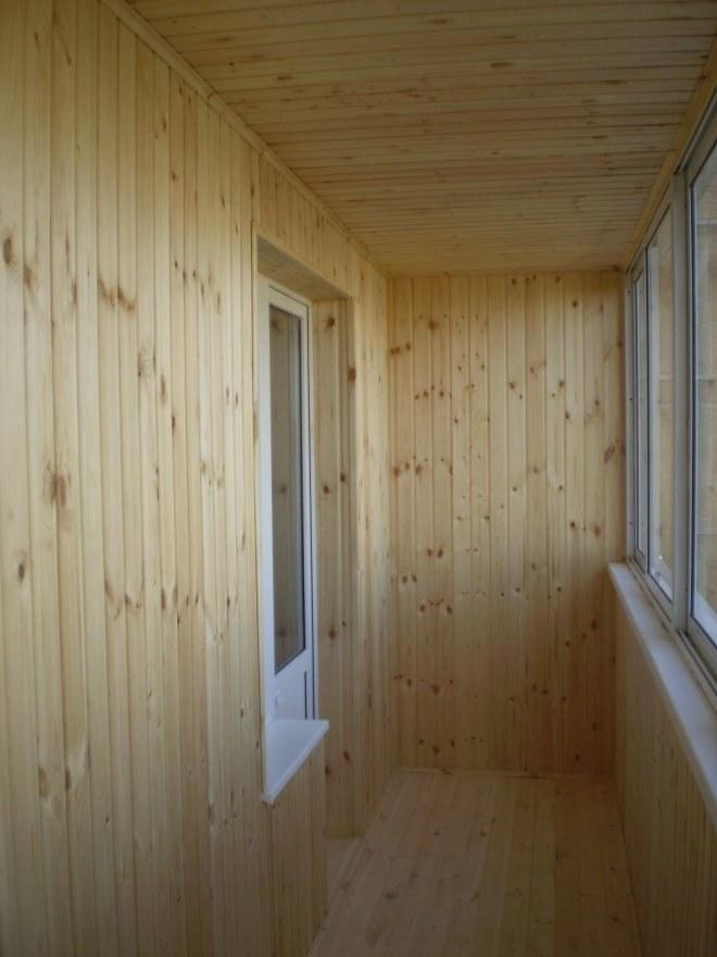 ? как отделать балкон вагонкой :: ремонт квартиры.