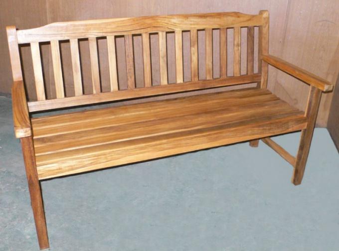 Как построить скамейку