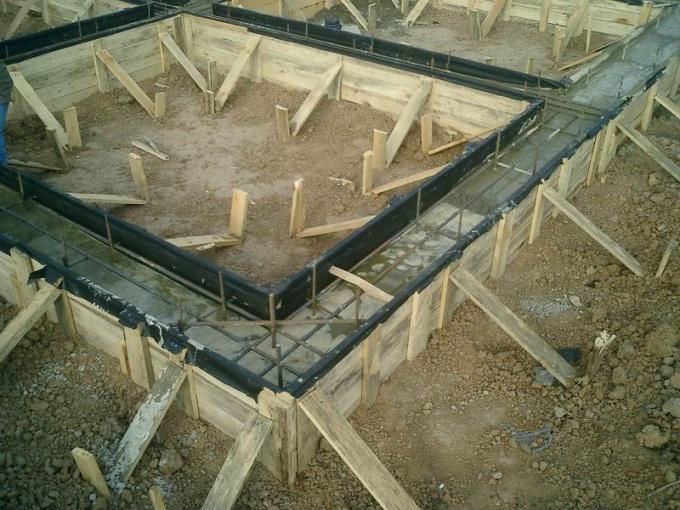 Как делать фундамент под дом